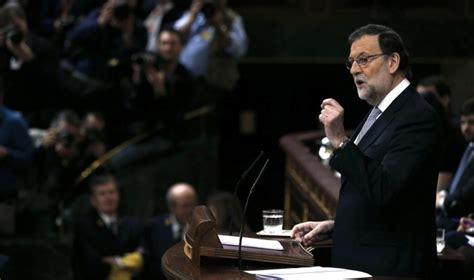 Rajoy anuncia el voto en contra del PP a Sánchez