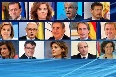 Rajoy anuncia su Ejecutivo, con siete nuevos rostros ...