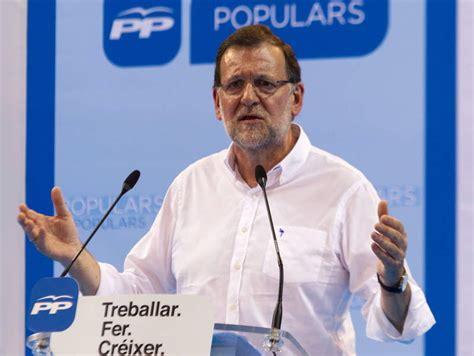 Rajoy avisa de que votar PSOE o a quienes le «apuntalan ...