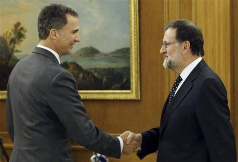Rajoy declina presentarse por ahora a su reelección y pone ...
