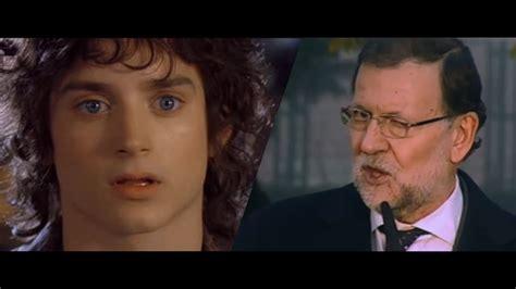 Rajoy, el alcalde, el vecino y los hobbits   YouTube