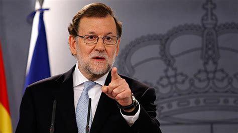 Rajoy exigió de manera inmediata elecciones libres y ...