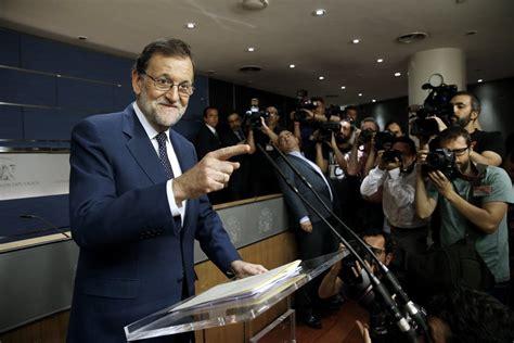 Rajoy hablará de la urgencia y necesidad de tener Gobierno ...