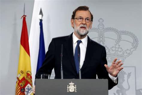 Rajoy:  He disuelto el Parlamento de Cataluña    Mundo ...