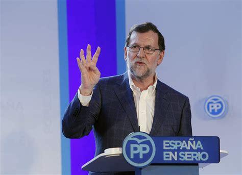 Rajoy no se refiere al caso Soria en un mitin netamente ...
