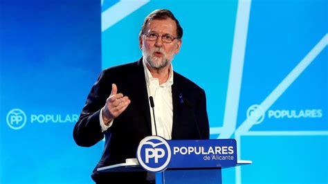 Rajoy olvida el nombre del alcalde de Alicante