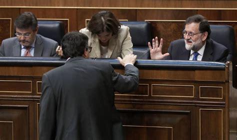 Rajoy ordena tensión a todos sus ministros | España | EL PAÍS