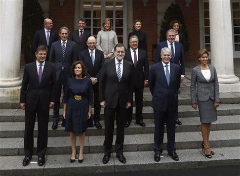 Rajoy preside la foto oficial y la primera reunión de su ...