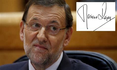 Rajoy, Sánchez, Rivera e Iglesias: así son según su firma ...