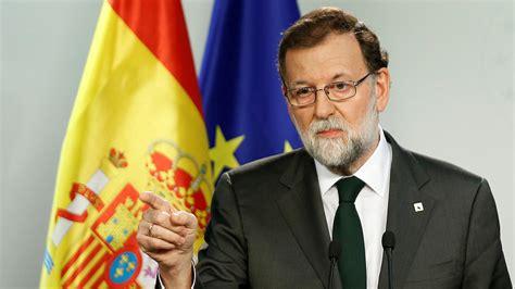 Rajoy sobre Cataluña: