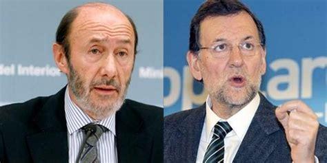 Rajoy y Rubalcaba (Candidatos Presidenciales) - Patrimonio