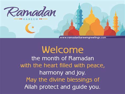 Ramadan Kareem Greeting Messages | www.imgkid.com - The ...