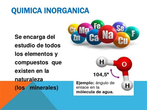 Ramas de la quimica