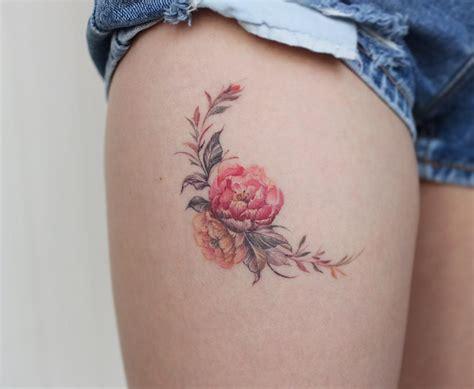 Ramillete de Flores   Tatuajes para Mujeres