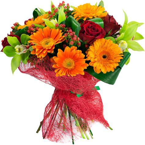 Ramo de flores confianza a domicilio con Flores4you.