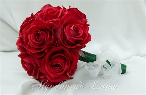 Ramo de flores rojas | Algodón de Luna