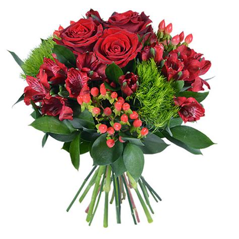Ramo de Flores Rojas | Aquarelle