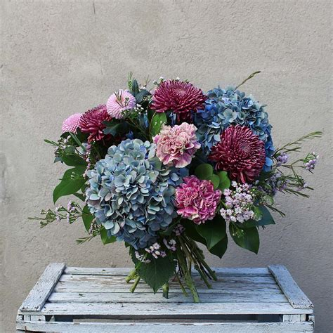 Ramo de Flores Vintage Otoñal | Bourguignon. Floristería ...