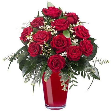 Ramos de Flores Naturales Rojas
