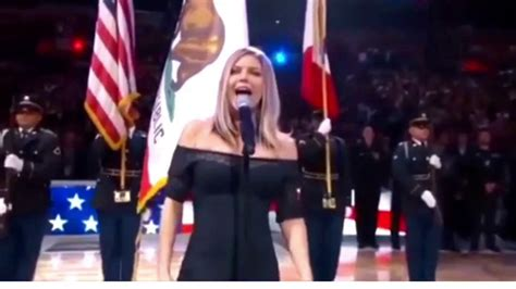 Random People Dance to Fergie Singing The National Anthem ...