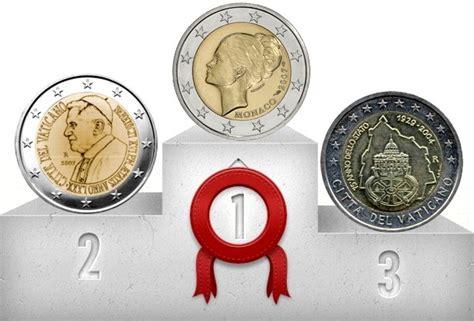 Ranking de las monedas de 2 euros conmemorativas ...