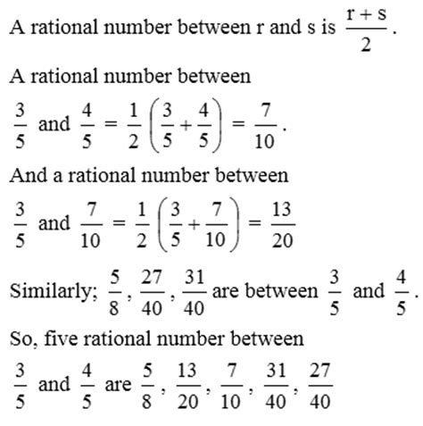Rational Numbers Examples 35748 | SOFTBLOG
