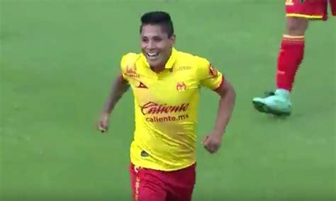 Raúl Ruidíaz anotó su primer gol con el Monarcas Morelia ...
