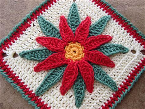 Ravelry: Granny Poinsettia (Flor de Nochebuena) pattern by ...