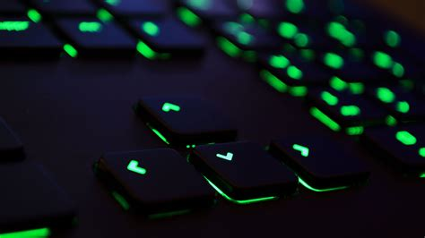 Razer Green Keyboard 4K Wallpapers