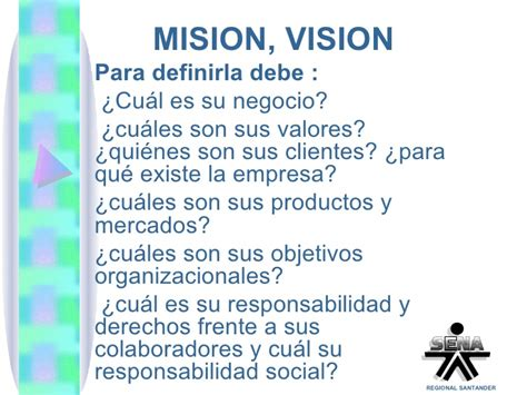 Razon social mision vision