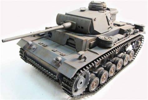 Rc tank Panzer III 1:16 Full Metal   StuntZolder.nl