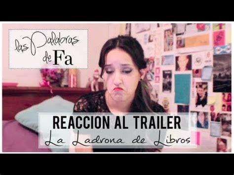 Reacción a La Ladrona de Libros (the book thief trailer ...