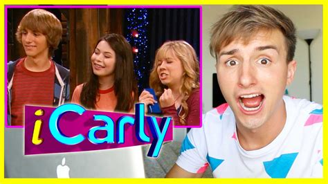 REACTING TO FRED ON ICARLY   YouTube