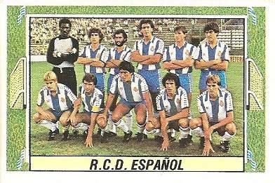 REAL CLUB DEPORTIVO ESPAÑOL - El Sitio De Mis Cromos