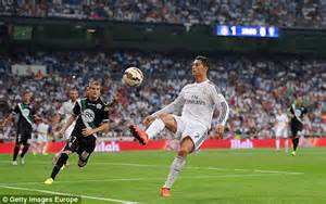 Real Madrid 2 0 Cordoba LIVE: Cristiano Ronaldo scores to ...