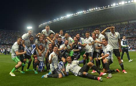 Real Madrid are the 2016 2017 Champions of La Liga! Quick ...