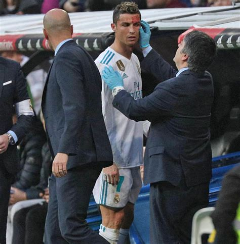 Real Madrid beat Deportivo 7-1: Cristiano Ronaldo injured ...