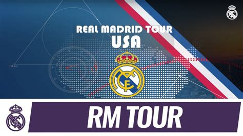 Real Madrid C.F. Tour 2017 is coming to the USA!   YouTube