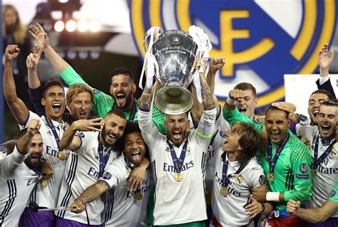 Real Madrid Campeón Champions League 2016 2017