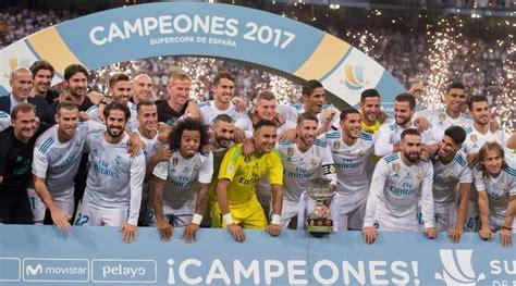 Real Madrid Campeón Supercopa de España 2017