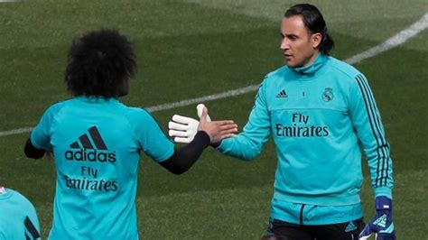 Real Madrid: El Madrid mima a Keylor Navas