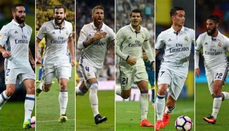 Real Madrid: seis jugadores convocados para selección ...