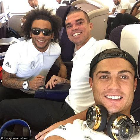 Real Madrid stars return to Spain... and Cristiano Ronaldo ...
