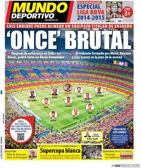 Real Madrid Supercampeón de Europa: Las portadas - Mundial ...