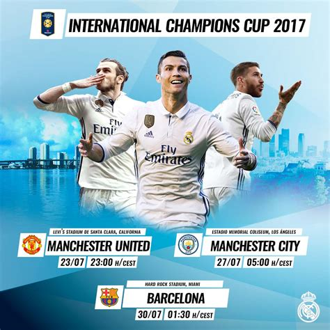 Real Madrid To Meet Manchester United, Manchester City ...