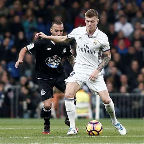 Real Madrid vs Deportivo La Coruña en vivo 2017 La Liga ...