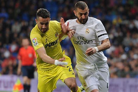 Real Madrid vs Villarreal, La Liga 2016 live stream: Time ...