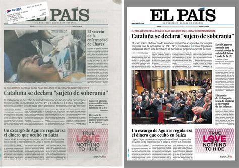 Rebelion. Burla mundial: El País de España ordena recoger ...