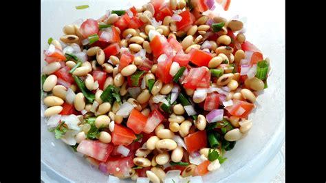 Receita: Salada de Soja - YouTube