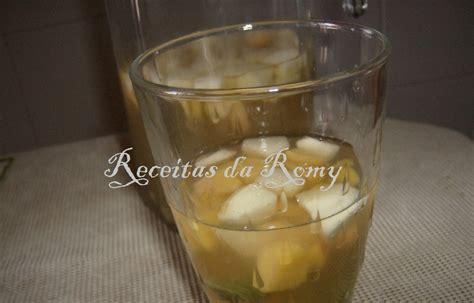 Receitas da Romy: Sangria de champanhe